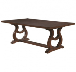 Glen Cove 84″ Dining Table w/ 20″ Leaf by Coaster