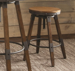 Hornell Adjustable Bar Stool by Coaster