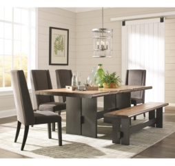 Marquette Live Edge Dining Table by Coaster