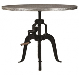 Rhea Metal Crank Table by Coaster