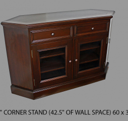 Rainer 60″ Corner TV Stand by North American Wood