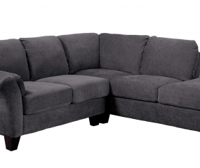 Clayton II Sectional 2-Piece-Lsf Love-Rsf Chaise by Emerald Home Furnishings