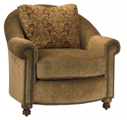 Roland Accent Chair by Omnia