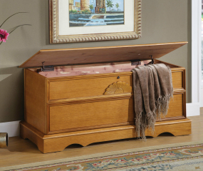 Traditional Rectangular Cedar Chest by Coaster