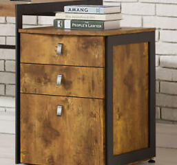 Estrella Industrial File Cabinet by Coaster