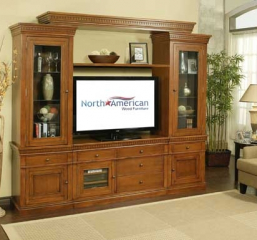 San Jose Entertainment Wall by North American Wood