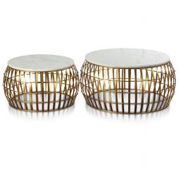 Dorian Drum Table Set by Stylecraft