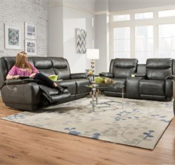 Velocity Sofa by Southern Motion