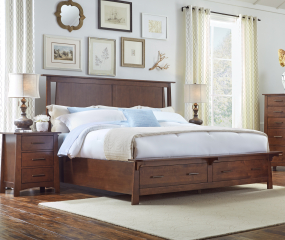 Sodo Storage Bed by A-America