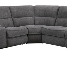 Aurora Power Sectional by Emerald Home Furnishings