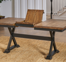 Stone Creek Butterfly Trestle Table by A-America
