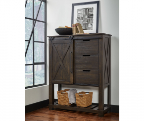 Sun Valley Barn Door Chest by A-America