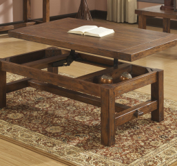 Chambers Creek Lift Top Cocktail Table by Emerald Home Furnishings