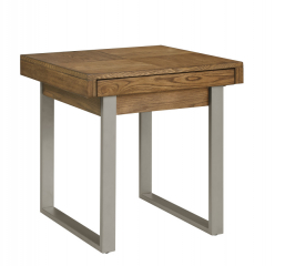 Slider End Table by Emerald Home Furnishings