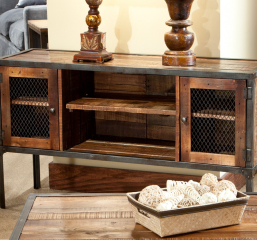 Laramie Sofa Table by Emerald Home Furnishings
