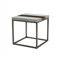 Stoneworks End Table by Emerald Home Furnishings
