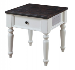 Mountain Retreat End Table by Emerald Home Furnishings