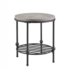 Cutter End Table by Emerald Home Furnishings