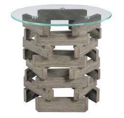 Jenga End Table by Emerald Home Furnishings