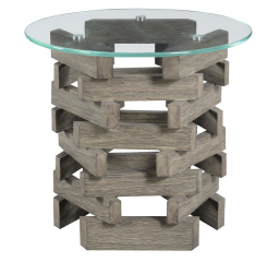 Jenga End Table by Emerald Home Furnishings