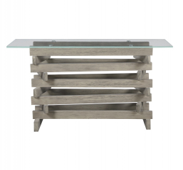 Jenga Sofa Table by Emerald Home Furnishings