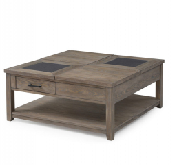 Nevada Square Cocktail Table by Emerald Home Furnishings