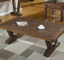 Castlegate Cocktail Table by Emerald Home Furnishings