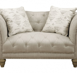 Emerald U3164 Hutton Chesterfield Loveseat