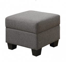 Clearview Ottoman by Emerald Home Furnishings
