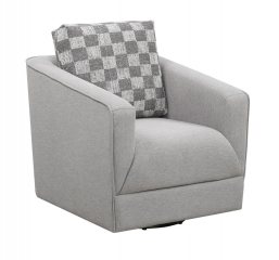Adler Swivel Chair by Emerald Home Furnishings