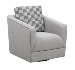 Adler Swivel Chair by Emerald Home Furnishings