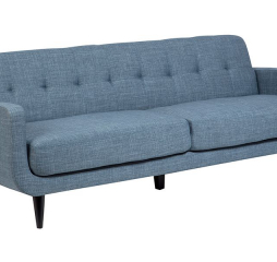 Casper Light Blue Mid Century Modern Sofa by Porter