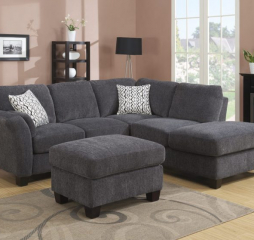 Emerald Home Clayton II Sofa Chaise Sectional