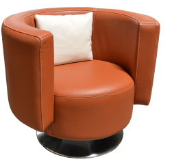 Vivaldi Barrel Swivel Chair by Omnia