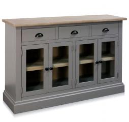 Four Door Three Drawer Cabinet by Stylecraft