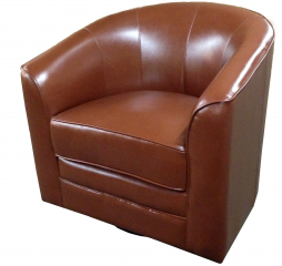 Milo Swivel Chair by Emerald Home Furnishings