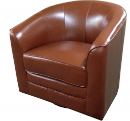Milo Swivel Chair by Emerald Home Furnishings