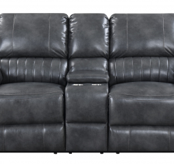 Navaro Motion Console Loveseat by Emerald Home Furnishings