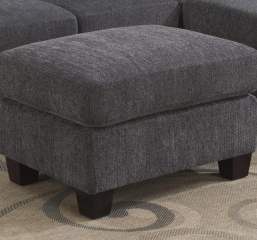 Clayton II Ottoman by Emerald Home Furnishings