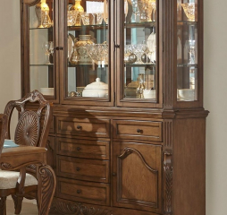 Moorewood Park Buffet and Hutch by Homelegance
