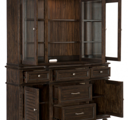 Cardano Buffet and Hutch by Homelegance