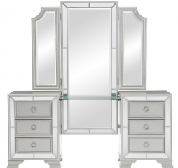 Avondale Vanity Dresser w/ Mirror by Homelegance