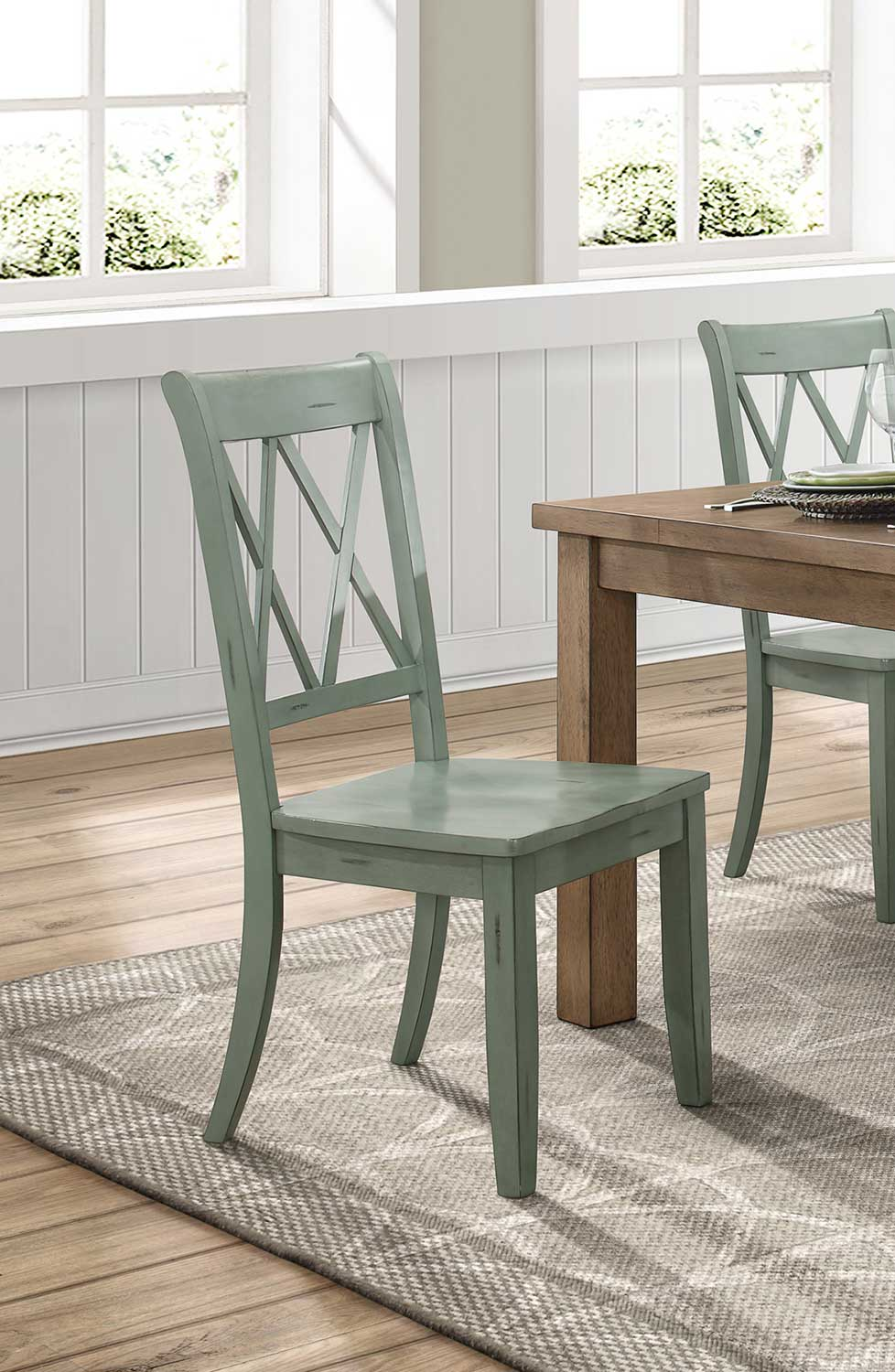 Janina Side Chair By Homelegance Broadway Furniture