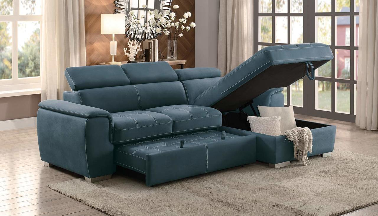 Superb Ferriday Sectional Sleeper Squirreltailoven Fun Painted Chair Ideas Images Squirreltailovenorg