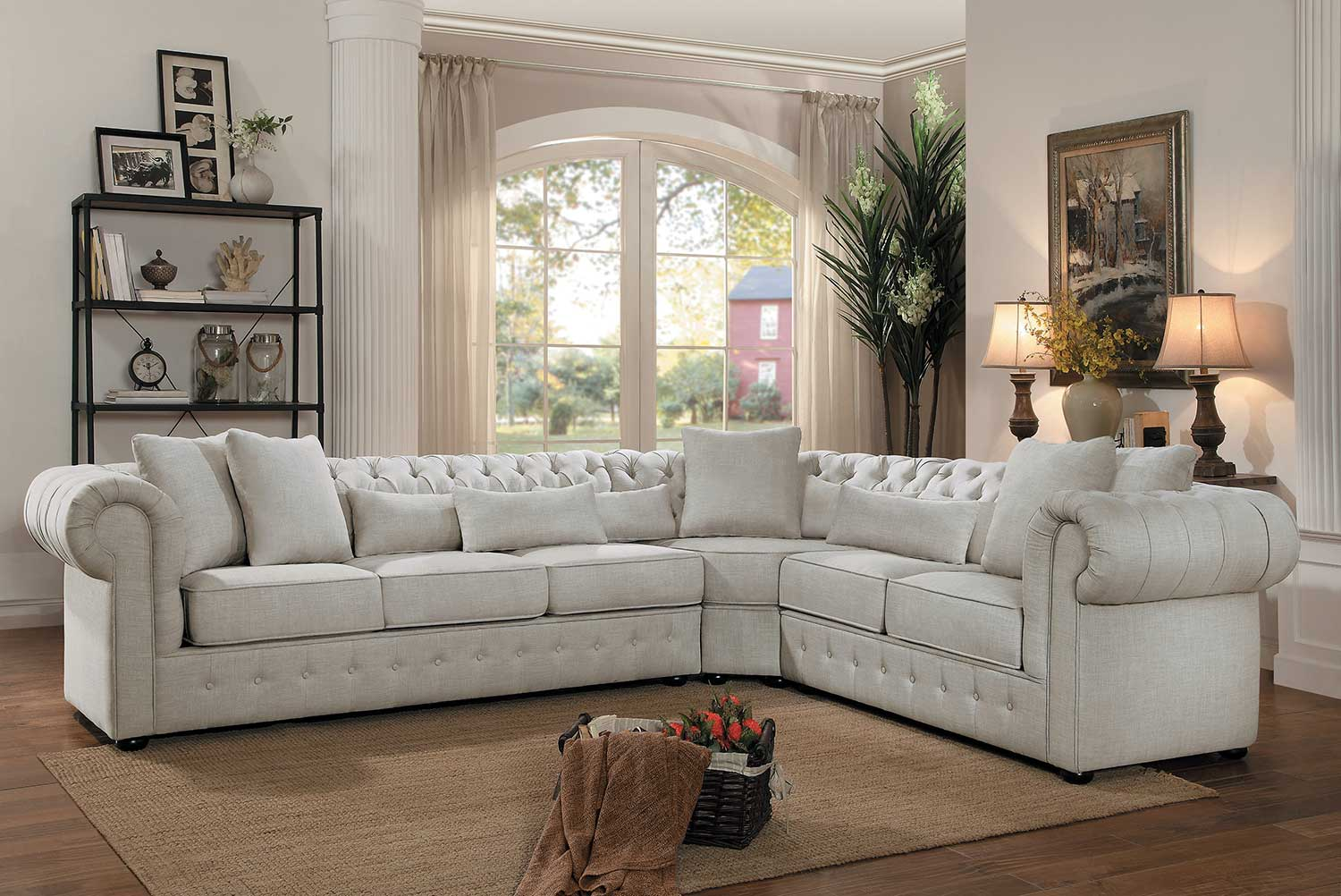 Savonburg Chesterfield Style Sofa