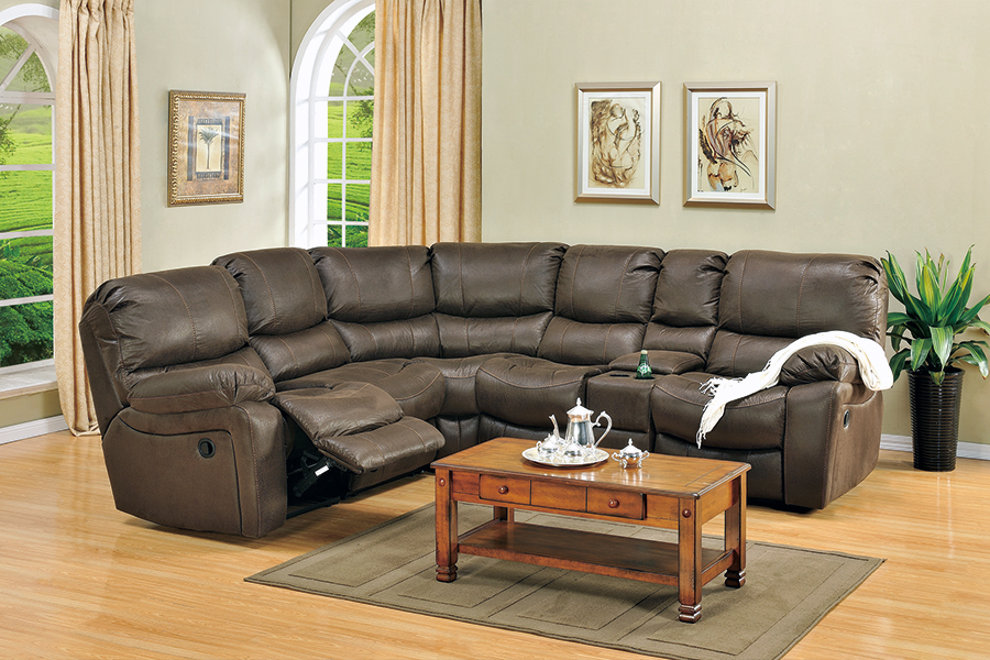 Ramsey Reclining Sectional Broadway Furniture