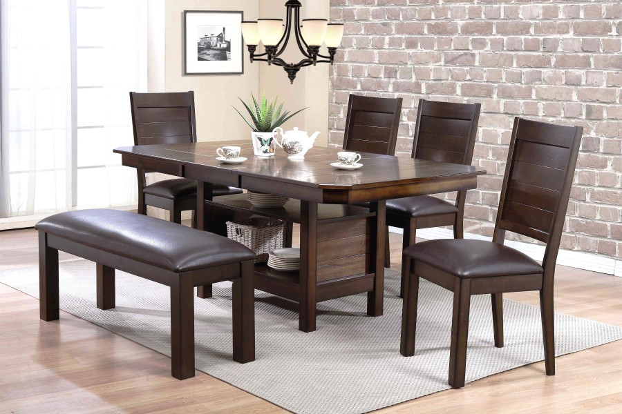 Madison 54 Quot Dining Table W 18 Quot Butterfly Leaf By Urban