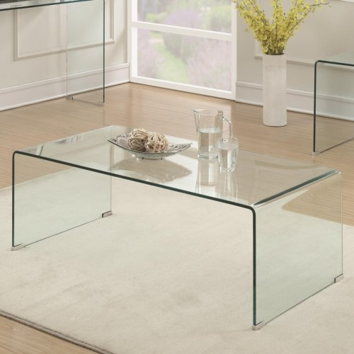 Clear Acrylic Coffee Table By Coaster