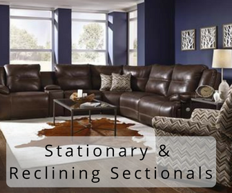 Stationary & Reclining Sectionals Portland OR