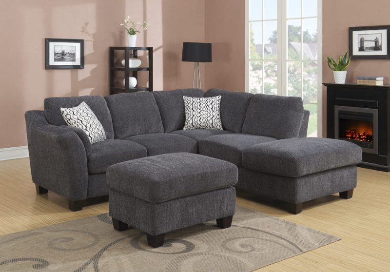 Emerald Home Clayton Ii Sofa Chaise Sectional Broadway